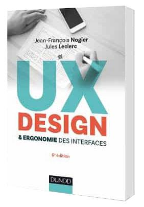 couverture livre ux design ergonomie